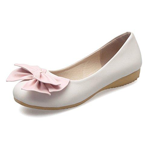 Dulce bajo zapatos/arco de zapatos del estudiante/las chicas princesa zapatos/Plano casuales zapatos C