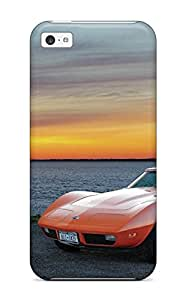 Iphone 5c Hybrid Tpu Case Cover Silicon Bumper Chevy