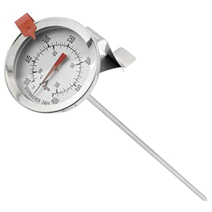 Temperature Gauges New Household Thermometer Jam Sugar Cook Temperature Stick Double Scale Display Sugar Deep Fry Kitchen Gadgets Home Accessories