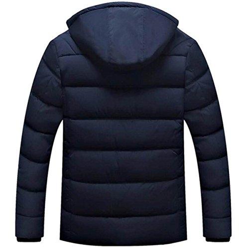 Ispirato Ispirato Di All'invecchiamento Giacca Giacca Giacca Black Invernale Invernale Invernale Di Calda In Cotone Cotone In xnSxz4Cqw