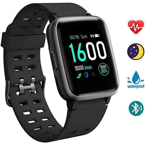 chollos oferta descuentos barato Reloj Inteligentes YAGALA IP68 Smartwatch Pulsera Deportiva Inteligente Para Niños y Niñas Con Contador De Calorías De Monitor De Sueño Podómetro De Monitorización De La Frecuencia Cardíaca