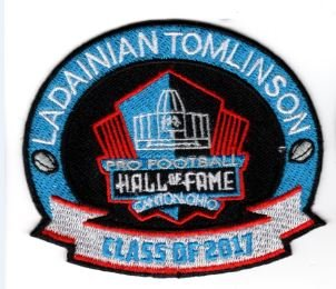 PATCH 2017 PRO FOOTBALL HALL OF FAME HOF CHARGERS SUPER BOWL (Hall Of Fame Limited Edition Football)