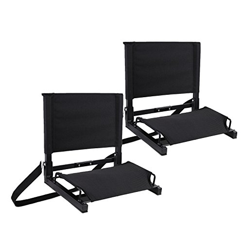 Ohuhu Stadium Chairs /Stadium Seats, 2 P…