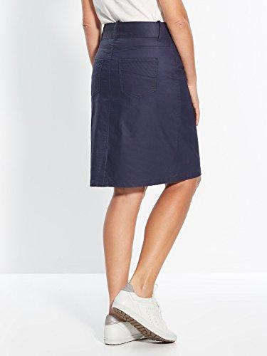 Balsamik - Falda tejido enlucido, estatura grande + 1,60 m - Mujer Azul
