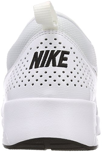 Air Thea Baskets black Femme white 108 Blanc Nike Max dBcW7AdZa
