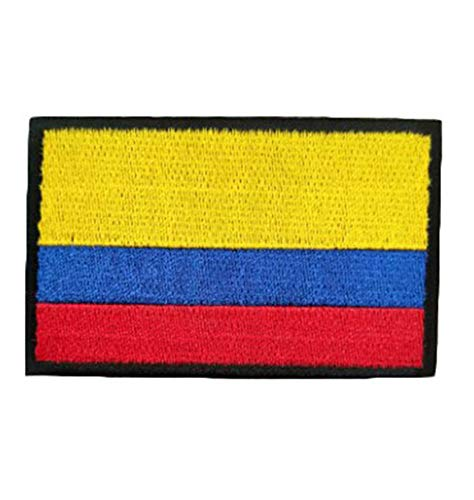 QTao QT102i Multiple Country Flag Patch (Columbia)