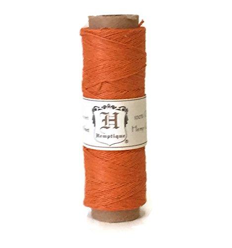 Hemp Cord Spool 10# Orange 205 Feet