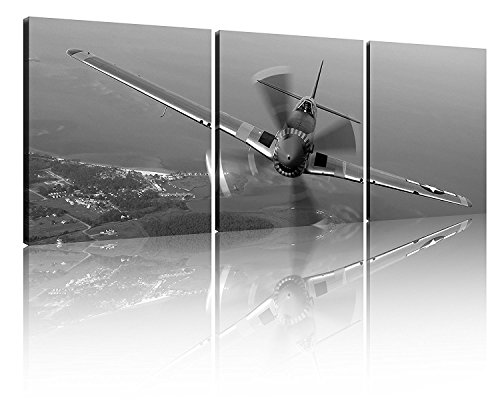 3 panel Vintage Fighters Flying Fighter Adornment Framed Painting Canvas Prints Vintage Aircraft Art Wall Decor the Picture Print Home Decorative Art Picture Paint on Canvas Prints