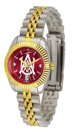 Alabama A & M Bulldogs Ladies Executive AnoChrome Watch - Ladies Executive Anochrome Watch