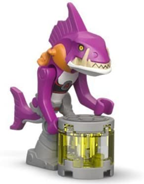 LEGO TMNT - FISHFACE Minifigure - Teenage Mutant Ninja Turtles