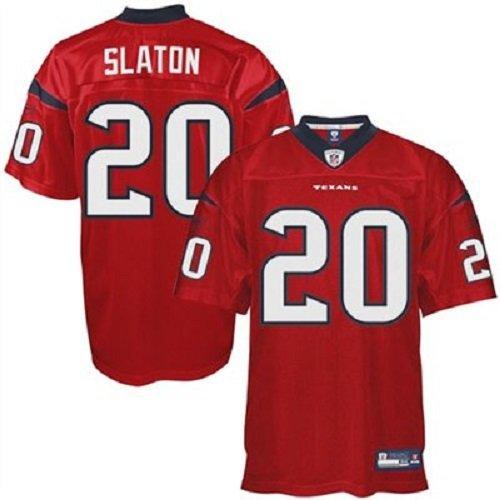 NFL Football Trikot Jersey ONFIELD HOUSTON TEXANS Steve Slaton rot in sz 50 in XL (X-Large)