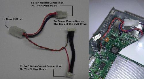 xbox 360 slim custom fan - 9