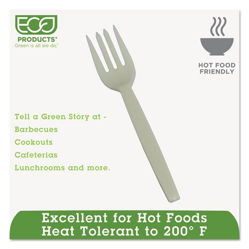 ECPEPS002 - Plant Starch Fork, Cream