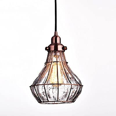 YOBO Lighting Glass Moravian Star Pendant Chandelier