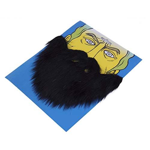 Baynne Fancy Dress Mustache & Fake Beard Facial Hair Party Costume Dress Up Halloween Masks Accessories Long Fluff]()