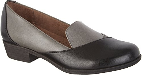 Natural Soul By Naturalizer Womens Vovo Mocassini Grigio