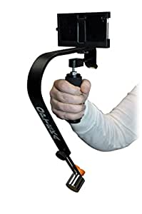 Opteka SteadyVid EX Video Stabilizer with SV-IP4 Cradle Mount for Apple iPhone 4 / 4s