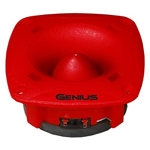 "Genius GPRO-T10 1.8"" 350 Watts-Max Tweeter Car Audio Phenolic Diaphragm 4-Ohms"