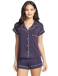 Vilania PJs Women's Sleepwear Shorty Pajama Set with Shorts