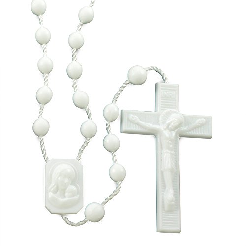 White Plastic Beads