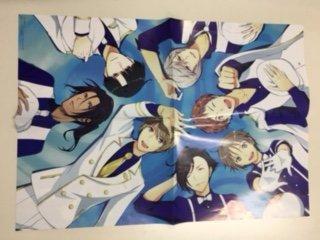 Both sides B 3 poster / Yume color cast & Osomatsu-san / Girl's Berry