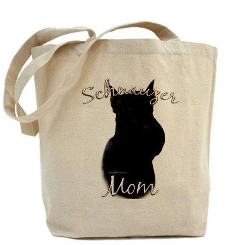 CafePress Schnauzer MOM2Tote Bag–Standard Multi-color da CafePress