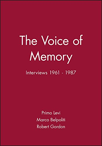 The Voice of Memory: Interviews 1961 - 1987