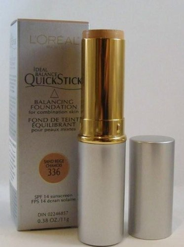 Loreal Quick Stick Long Wearing Foundation, Sand Beige by L'Oreal Paris