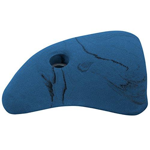 Klettergriff Henkel Größe L , Farbe:blau-meliert