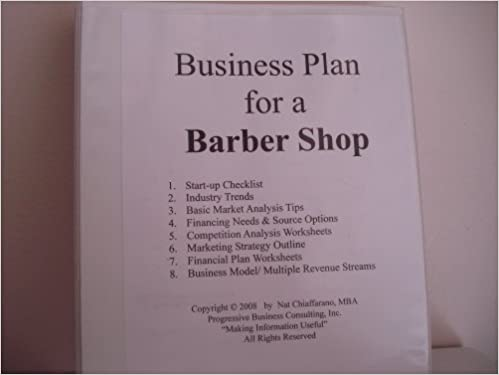 Business Plan for a Mobile Barber (Fill-in-the-Blank Mobile Barber ...