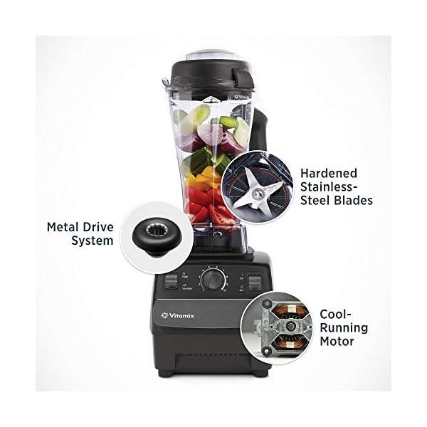 Vitamix Standard Blender, Professional-Grade, 64oz. Container, Black (Renewed) 2