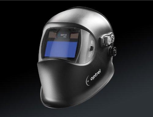 Optrel e650 Expert Welding Helmet Auto Darkening Black Shade 4/9-13 by Optrel