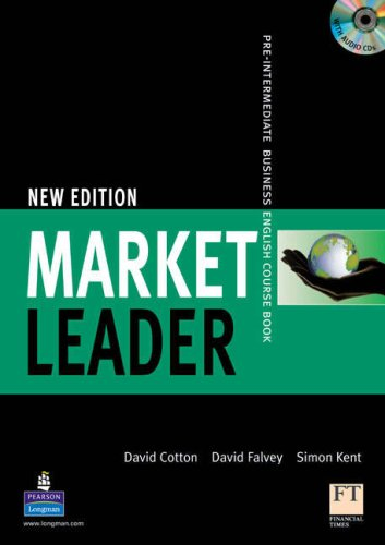 Market Leader Level 2, 1st Ed: Pre-Intermediate Business English Course Book with CD-ROM (Level Market Leader)