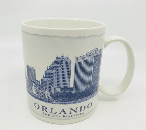 Starbucks Orlando Mug Architect Skyline City Collectors Series 2007