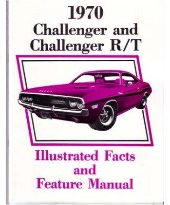 1970 DODGE CHALLENGER Facts Features Sales Brochure