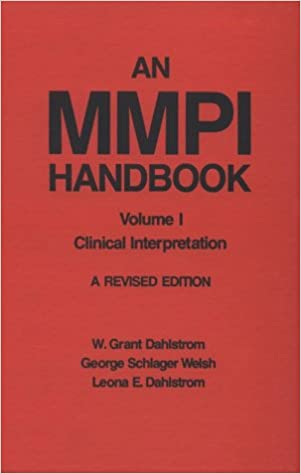 Amazon an mmpi handbook volume 1 clinical interpretation an mmpi handbook volume 1 clinical interpretation first edition edition fandeluxe Images
