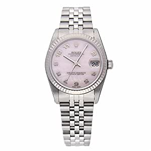 Rolex Datejust Automatic-self-Wind Female Watch 78274 (Certified Pre-Owned)