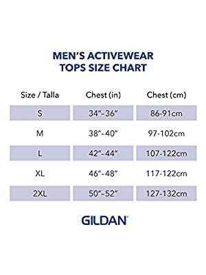Gildan Men's DryBlend Workwear T-Shirts with Pocket, 2-Pack