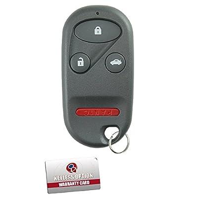KeylessOption Keyless Entry Remote Control Car Key Fob Replacement for E4EG8DJ: Automotive