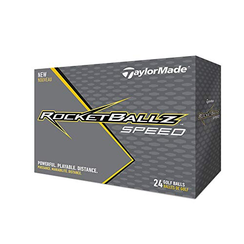 TaylorMade Rocketballz Speed Golf Balls (Two Dozen) ()