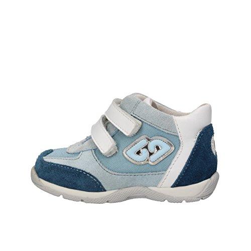 scamosciata Bambini Sneakers pelle Balducci azzurra in HUI1Wwq