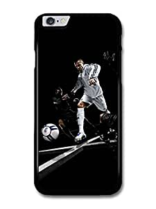 David Beckham Playing White Football Player case for iPhone 6 Plus by runtopwell