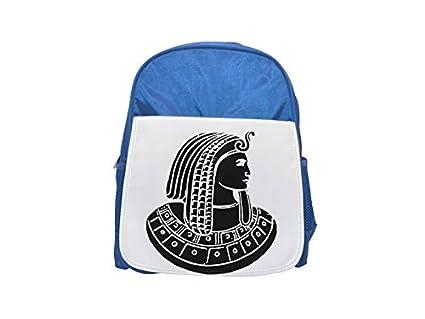 Fotomax Pharaoh Mochila Estampada Azul para niños, Lindas Mochilas, Lindas Mochilas pequeñas, Mochila