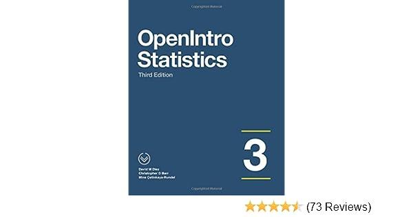 Openintro statistics third edition david m diez christopher d openintro statistics third edition david m diez christopher d barr mine etinkaya rundel 9781943450039 amazon books fandeluxe Choice Image