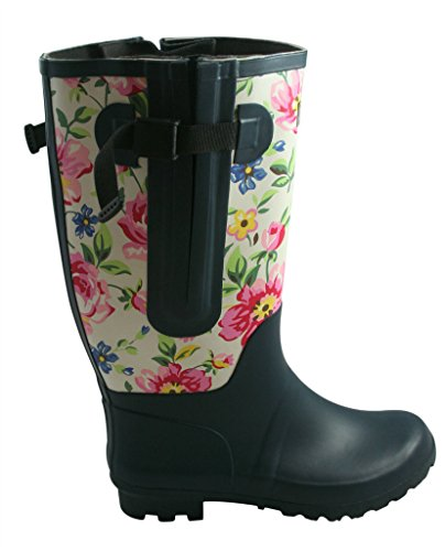 Cool On Your Feet Satra Women39s Solid Rain Boots  Free Shipping On Orders