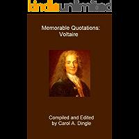 Memorable Quotations: Voltaire