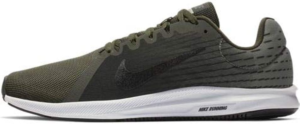 Nike Downshifter 8, Zapatillas de Atletismo para Hombre, Multicolor (Sequoia/Black/Spruce Fog/White 302), 39 EU: Amazon.es: Zapatos y complementos