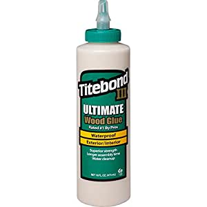 Titebond III Ultimate Wood Glue, 16-Ounces #1414