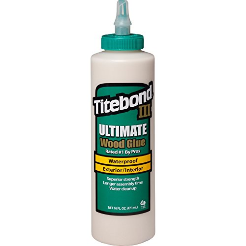- Titebond III Ultimate Wood Glue, 16-Ounces #1414