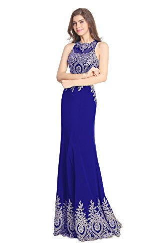 Blue Embroidery Ballkleid Abendkleider Pieces Royal Fanciest Gowns Heimkehr Damen Two Lang 5qRWv7